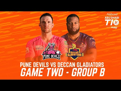 Match 2 HIGHLIGHTS I Pune Devils vs Deccan Gladiators I Day 1 I Abu Dhabi T10 I Season 4