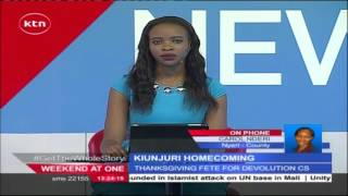 President Uhuru Kenyatta attends devolution CS Mwangi Kiunjuri's homecoming