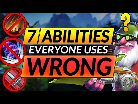 7 Abilities EVERYONE USES WRONG - Do THIS and INSTANTLY GAIN MMR - Tips and Tricks - Dota 2 Guide