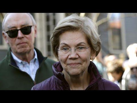 Eκτός κούρσας για το χρίσμα των Δημοκρατικών η Ελίζαμπεθ Γουόρεν…