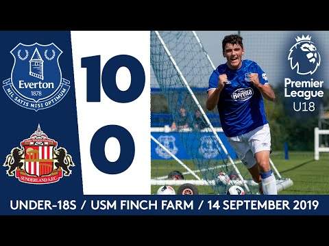 Video: U18S GOALFEST! | EVERTON 10-0 SUNDERLAND