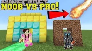 Video Minecraft: NOOB VS PRO!!! - NATURAL DISASTER SURVIVAL! - Mini-Game MP3, 3GP, MP4, WEBM, AVI, FLV September 2018