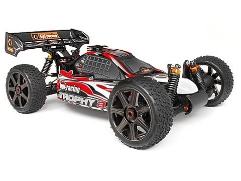 HPI Trophy 3.5 - Here is the HPI Trophy 3.5 Bashing Till Breaking series. We did manage to break the left steering arm in this video on a bad landing which now needs replacin...