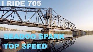 5. #17 seadoo spark jet ski top speed and manitoulin swing bridge