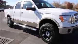 2010 Ford F-150 Super Crew 4x4 Lariat NEW LIFT TIRES WHEELS - Autos Inc