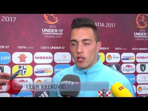 Leon Kreković uoči početka Eura U-17