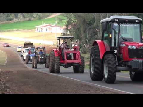 Agricultores realizam festa do colono em Enéas Marques