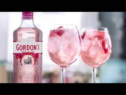 GORDON'S Pink Gin 37,5% 70cl