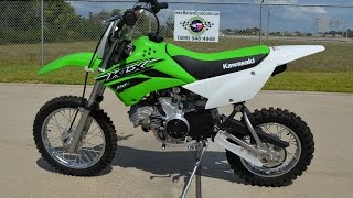 10. $2,499:  2015 Kawasaki KLX 110L Overview and Review
