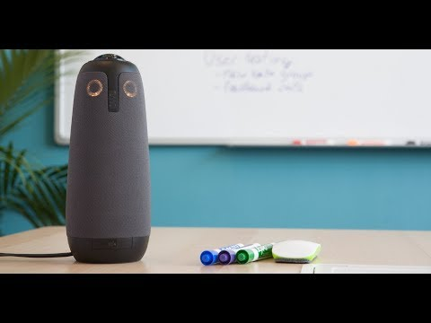 Learn about the new Meeting Owl, a 360° all-in one audio and video conferencing device.