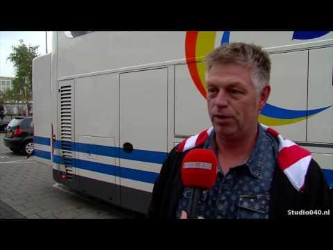 Gelatenheid bij supporters PSV na verlies