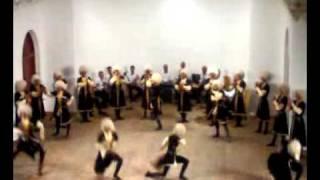 رقص بسیار پر تحرک قزاقی آذری