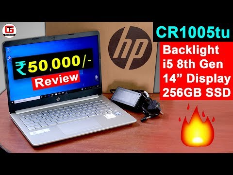 HP 14s CR1005TU Review 🔥🔥 Best Laptop Under 50000 for Students, Programming, Coding, Video Editing