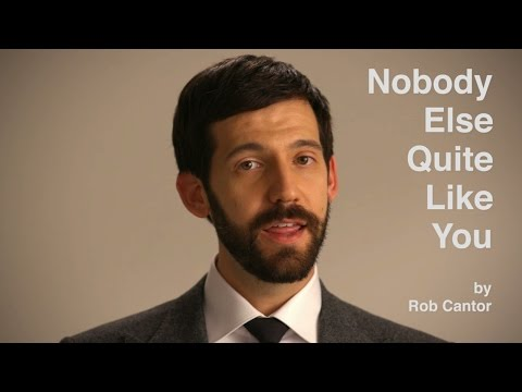 Rob Cantor Sings His Funny New Song There s Nobody Else Quite Like