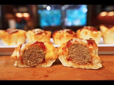 Best Meatball Muffins | SAM THE COOKING GUY recipe