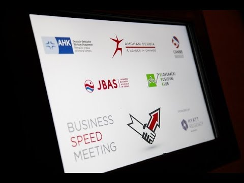 Speed Business Meeting @ Hyatt Regency Belgrade