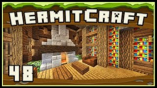 HermitCraft 4 - Minecraft:  Awesome Enchanted Book Library
