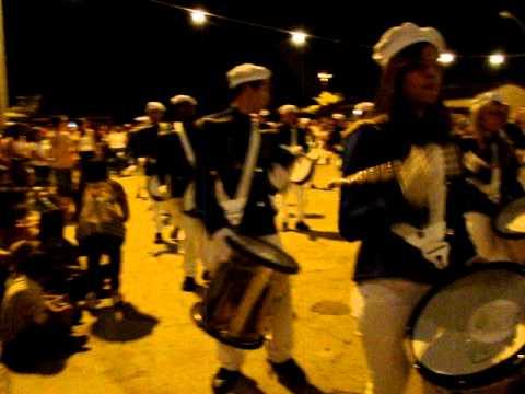 Desfile Cívico de 7 de Setembro em Licínio de Almeida - Fanfarra Renascer (à noite)