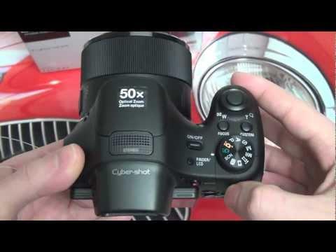 Sony Cyber-shot DSC-HX300 Unboxing