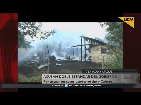 video Acusan doble estándar del Gobierno por actuar en casos Landerretche y Cañete