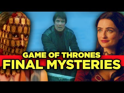 Game of Thrones - Top 12 Mysteries Left - MUST ANSWER QUESTIONS (видео)