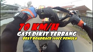Video TESTRIDE WHEELIE BEAT ROADRACE 150CC PEMULA | SPEK GAHAR | FreestyleVLOG Indonesia MP3, 3GP, MP4, WEBM, AVI, FLV Maret 2019