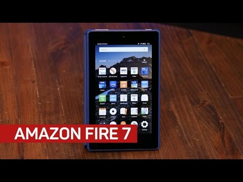 Amazon's new Fire 7 tablet improves slightly, keeps low price
