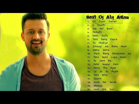 Top 20 Songs Of Atif Aslam | Best Of Atif Aslam | Jukebox 2018