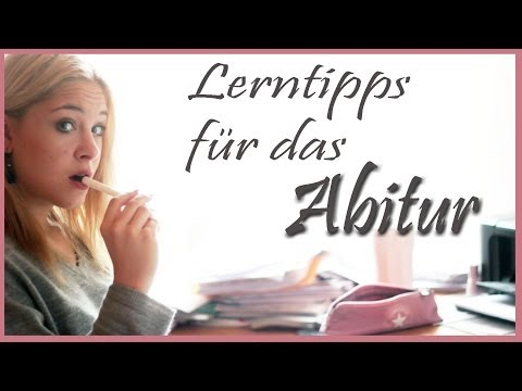 Lerntipps für das Abitur/ Klausuren (видео)
