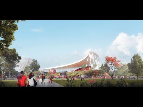Architecte stades / Agence Architecture sport : Gabriel Montpied Stadium