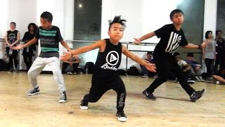 I DON'T MIND - @Usher | ft 8-YEAR-OLD AIDAN PRINCE | @MattSteffanina Dance Choreography - YouTube