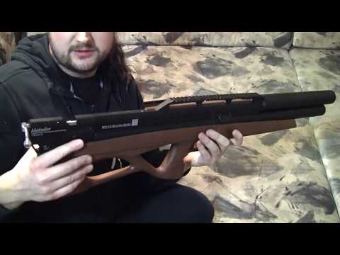 EDgun Matador R5 Long and Super Long - Unboxing (видео)