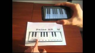 Piano AR (Augmented reality) YouTube video