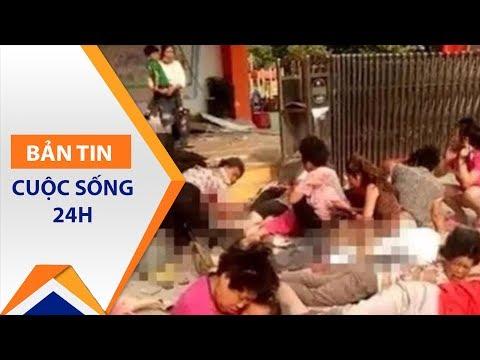 Trung Quốc: Nổ trường mầm non, 60 người thương vong | VTC1 - Thời lượng: 46 giây.