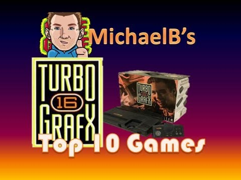 Top 10 Turbo Grafx 16 Games | MichaelBtheGameGenie