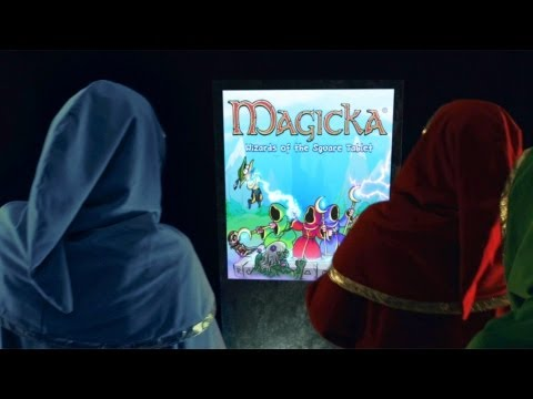 """Paradox Announces """"Magicka: Wizards of the Square Tablet"""" for Android and iPad"""