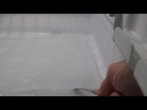 how to unclog freezer drain