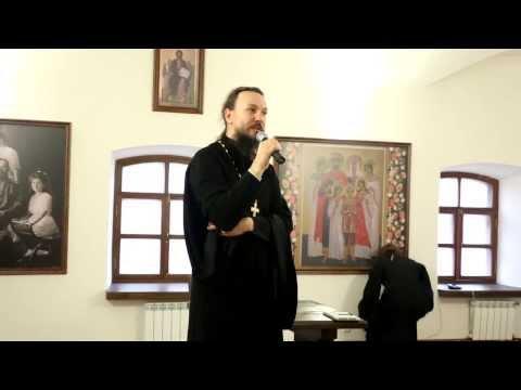 Протоиерей Павел Великанов в Гуслицком монастыре