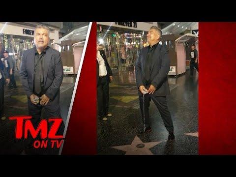 President Trump's Star Degraded By George Lopez   TMZ TV