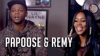 Hot 97 - Remy & Papoose Have Never Met Cardi B, Recording Arguments + #Bars!
