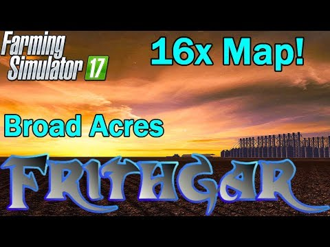 Broad Acres 16x Australian Map (Official Version) v1.1