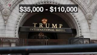 President Trump raised eyebrows after using his DC hotel to host a fundraising event for his re-election. Nathan Rousseau Smith (@fantasticmrnate) explains why.