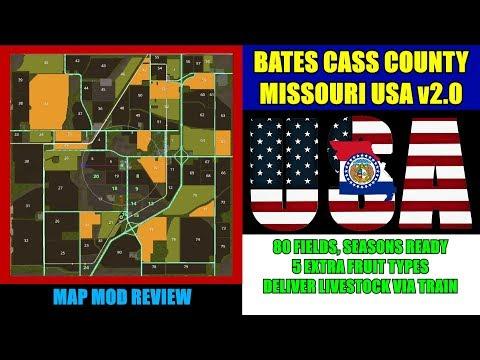 FS17 Bates Cass County USA v3.0