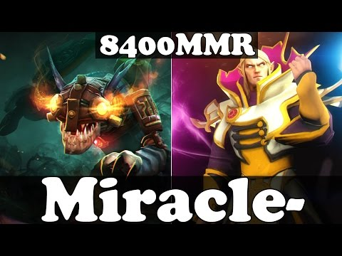 Dota 2 - Miracle 8400 MMR Plays Slark And Invoker - Ranked Match Gameplay
