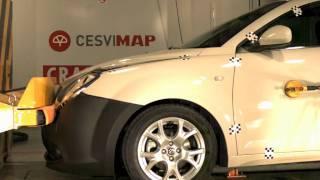 Bumper test delantero Alfa Romeo Mito