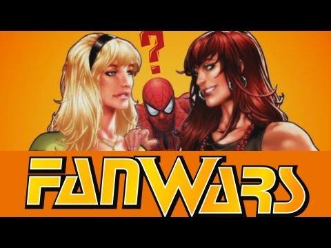 Fan Wars #1 - Gwen Stacy vs Mary Jane
