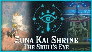 Zelda Breath of the Wild • Zuna Kai Shrine • Akkala