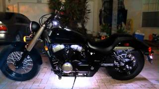 9. My 2010 Honda Shadow Phantom 750 Cruiser