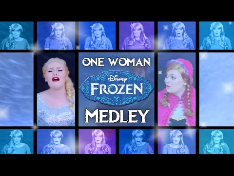 One Woman A Cappella Frozen Medley - Heather Traska