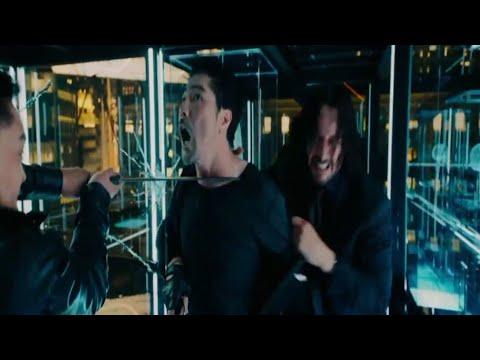 Glass Room Fight Scene - Final Fight - John Wick: Chapter 3 – Parabellum (2019) [AEC:]